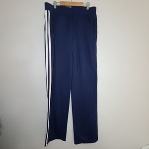 Juicy Couture Side Stripe Track Pants Blue Size Sm